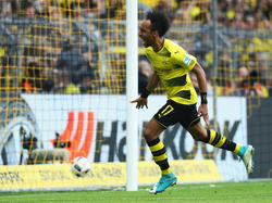 Pierre-Emerick Aubameyang steht womöglich vor seinem letzten Spiel im BVB-Dress