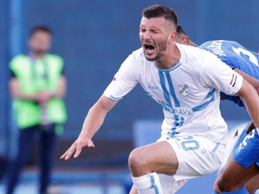 Alexander Gorgon darf im Rijeka-Dress wieder jubeln