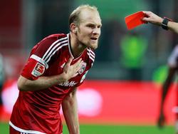 Nach einem verbalen Ausraster gegenüber Trainer Walpurgis wurde Tobias Levels aus dem Profi-Kader geworfen