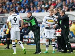 Drmić (l.) und Wendt fallen bei der Borussia länger aus