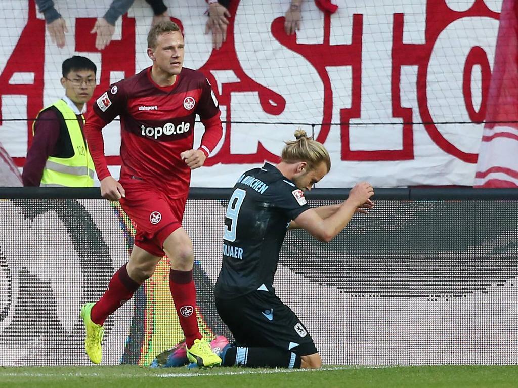 Kaiserslautern gewinnt Kellerduell gegen 1860 München