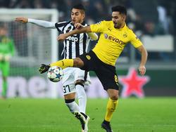Ilkay Gündogan (dcha.) lucha un cuero con Pereyra de la Juventus. (Foto: Getty)