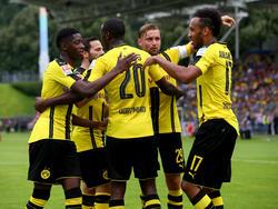 Der BVB hat sein Testspiel gegen den FC St. Pauli gewonnen