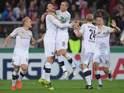 Sandhausen schießt den SC Freiburg aus dem Pokal