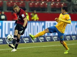 Der 1. FC Nürnberg und Eintracht Braunschweig trennen sich unentschieden