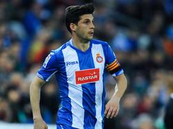Javi López prolongó una temporada más con el Espanyol. (Foto: Getty)