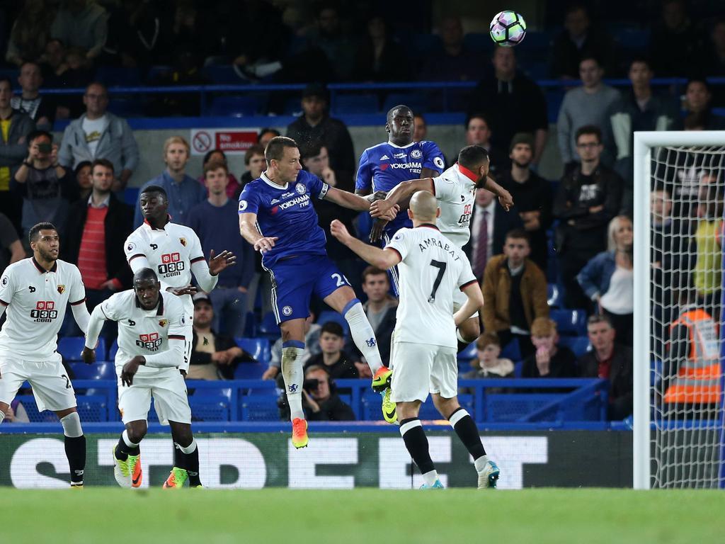John Terry traf für Chelsea gegen Watford