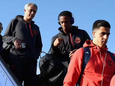 José Mourinho (l.) und Manchester United wollen die Europa League gewinnen