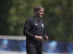U21-Trainer Stefan Kuntz steht mit seiner Mannschaft im EM-Finale
