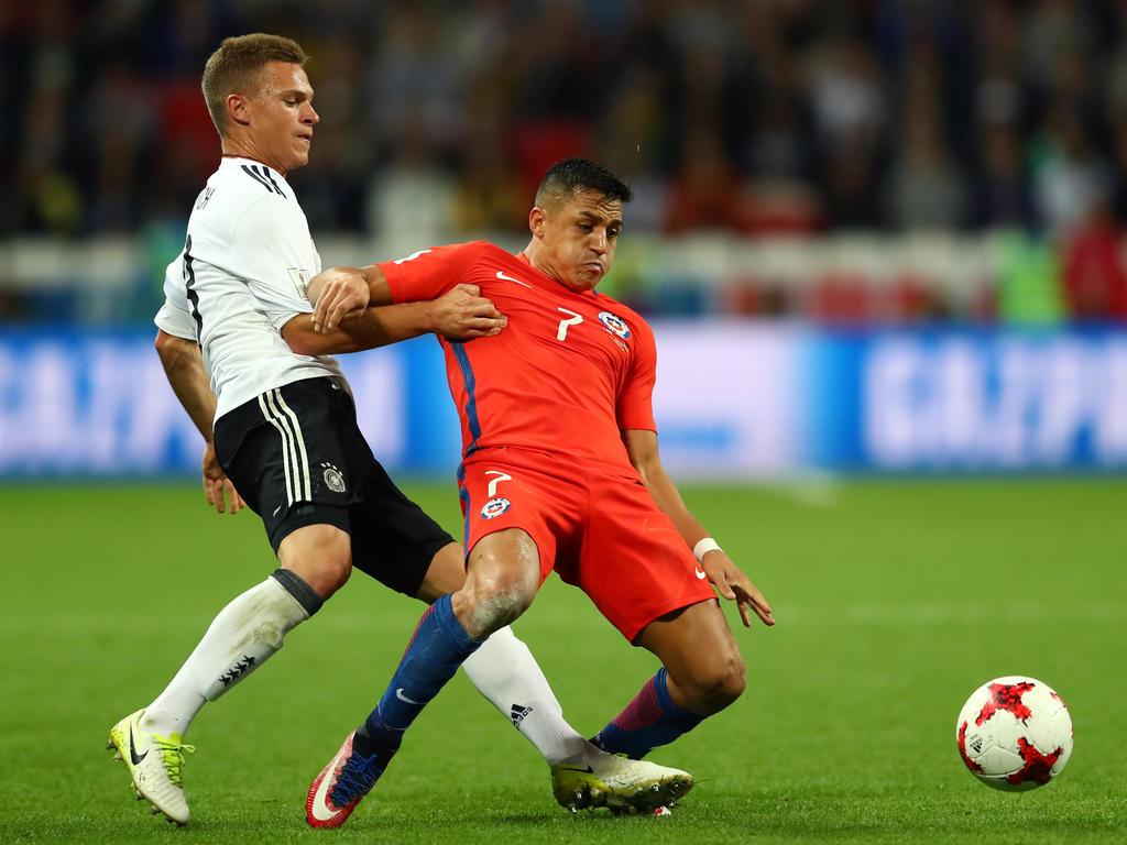 Knappe Kiste: Deutsche Bubi-Elf hält starken Chilenen beim 1:1 Stand