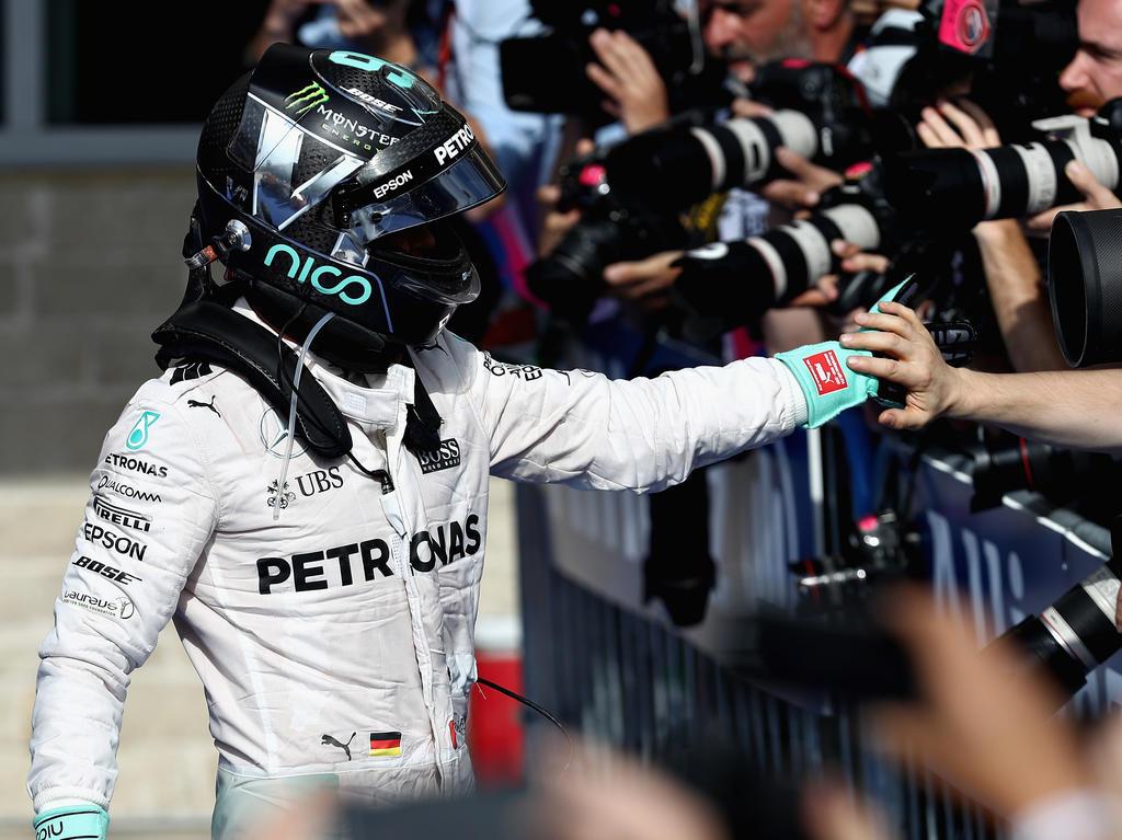 Nico Rosberg kann in Mexiko theoretisch schon den WM-Thron erklimmen
