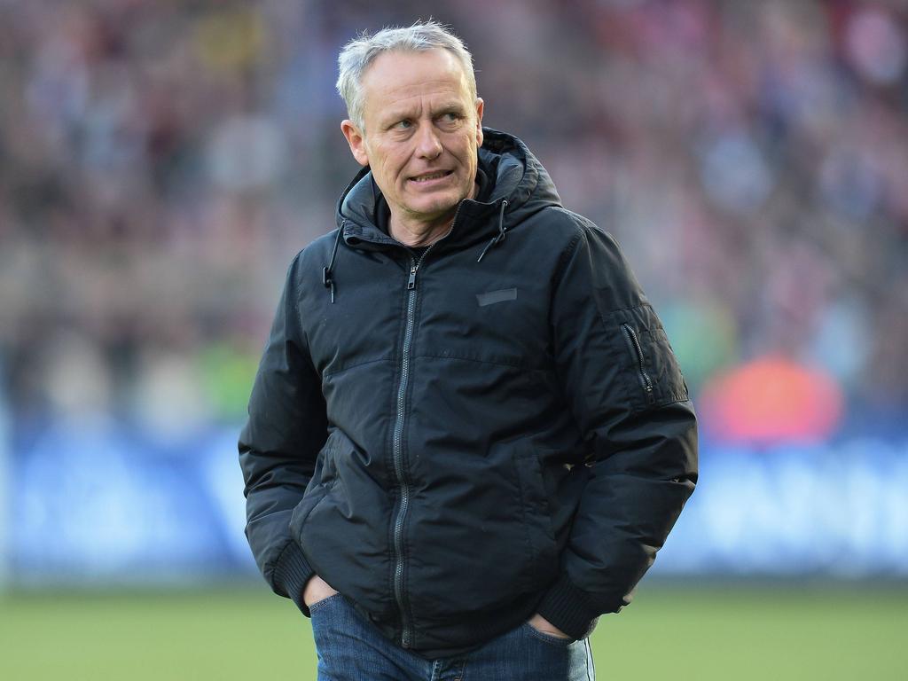 Christian Streich erwartet in Hamburg ein intensives Spiel