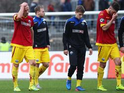 Der SC Paderborn steckt mitten im Abstiegskampf der 3. Liga