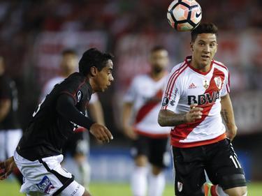 Driussi durante la Copa Libertadores (Foto: Imago)