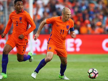 Für Arjen Robben (r.) zählt nur der dreifache Punktgewinn