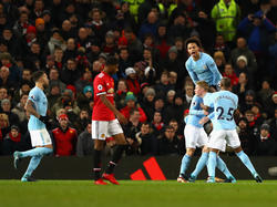 Leroy Sané und Manchester City ist in England einsame Spitze