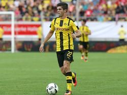 Christian Pulisic spielt noch für Borussia Dortmund