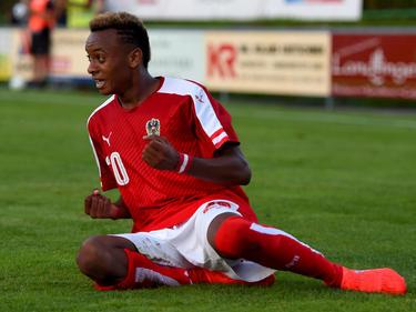 Thierno Ballo glänzte mit erst 14 Jahren als Österreichs Doppeltorschütze gegen England