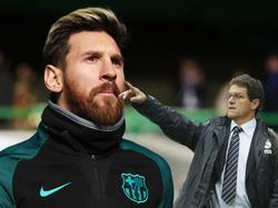 Capello (r.) ist von den Qualitäten von Messi überzeugt