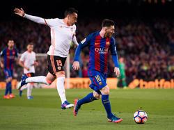 Messi quiere dar un golpe sobre la mesa ante el segundo clasificado. (Foto: Getty)