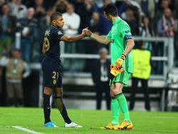 Mbappé spricht sich für Buffon als Weltfußballer aus