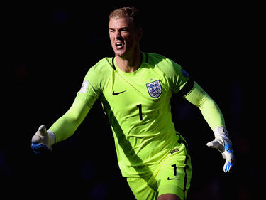 Joe Hart en una de sus 71 internacionalidades. (Foto: Getty)