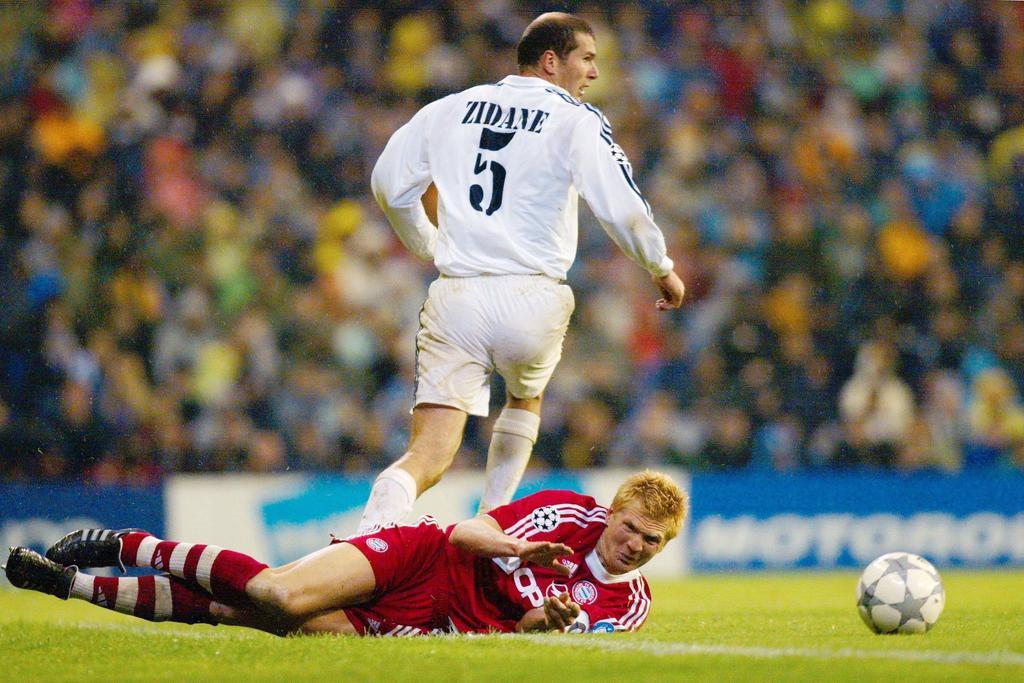5. Platz: Zinédine Zidane (Real Madrid) - Gewinn: 70 Mio.