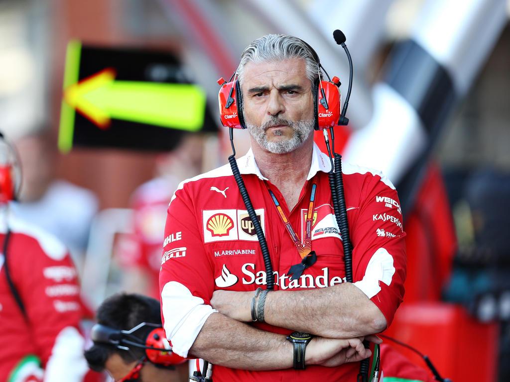 Maurizio Arrivabene sieht die Saison 2016 als