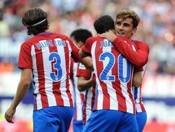 Atlético feierte einen Arbeitssieg