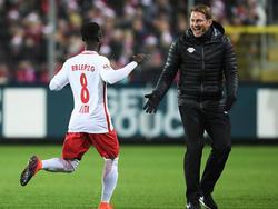 RB-Coach Hasenhüttl kann wohl wieder auf Keïta zählen