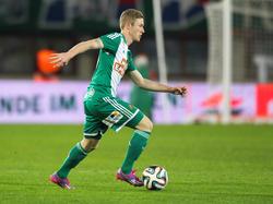 Florian Kainz im Einsatz für Rapid