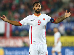 Montenegros Rekord-Torschütze Mirko Vučinić
