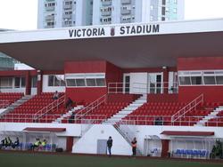 Das Victoria Stadium in Gibraltar wird ausgebaut
