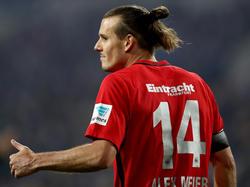 Gegen Leipzig zumindest wieder auf der Bank: Alexander Meier