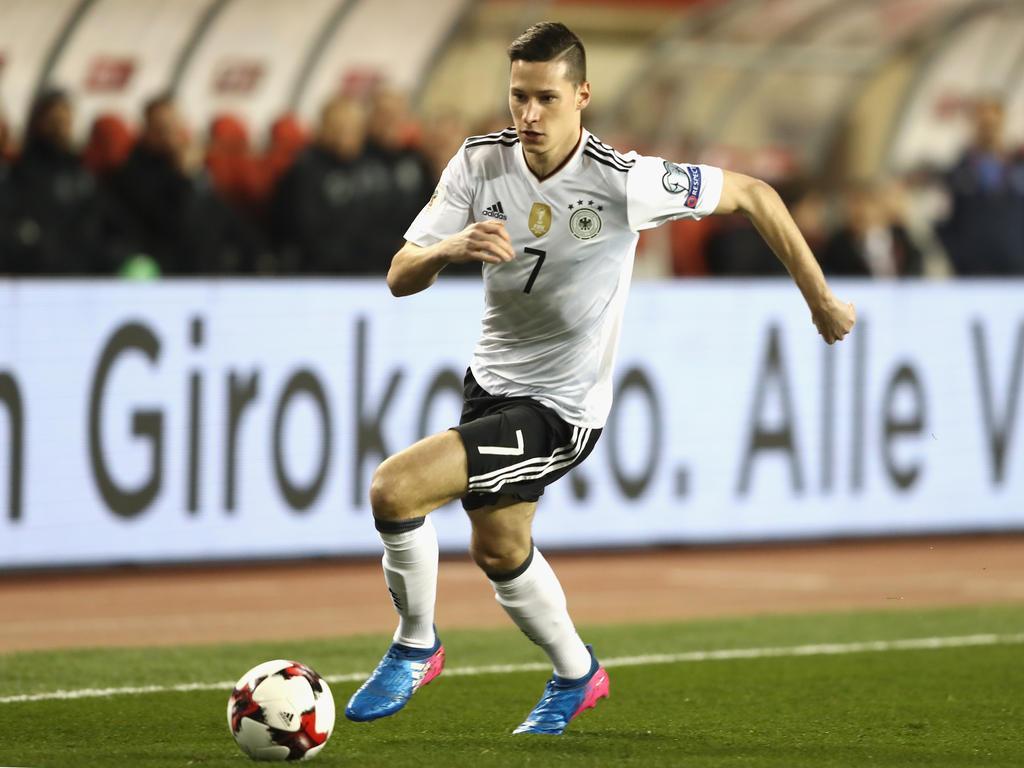Draxler erstmals Kapitän - Mit drei Neulingen gegen Dänemark