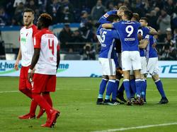 Drei Treffer bejubelten die Gelsenkirchener im letzten Heimspiel des Jahres