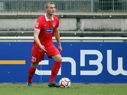 Timo Beermann spielt seit 2013 für den 1. FC Heidenheim