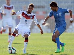 Hany Mukhtar (l.) ist ein Hoffnungsträger der deutschen U20
