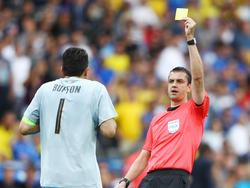 Viktor Kassai leitete bereits das Vorrundenspiel der Italiener gegen Schweden