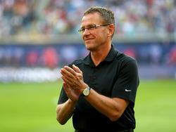 Ralf Rangnick sieht, dass die Anfeindungen gegen RB Leipzig weniger werden