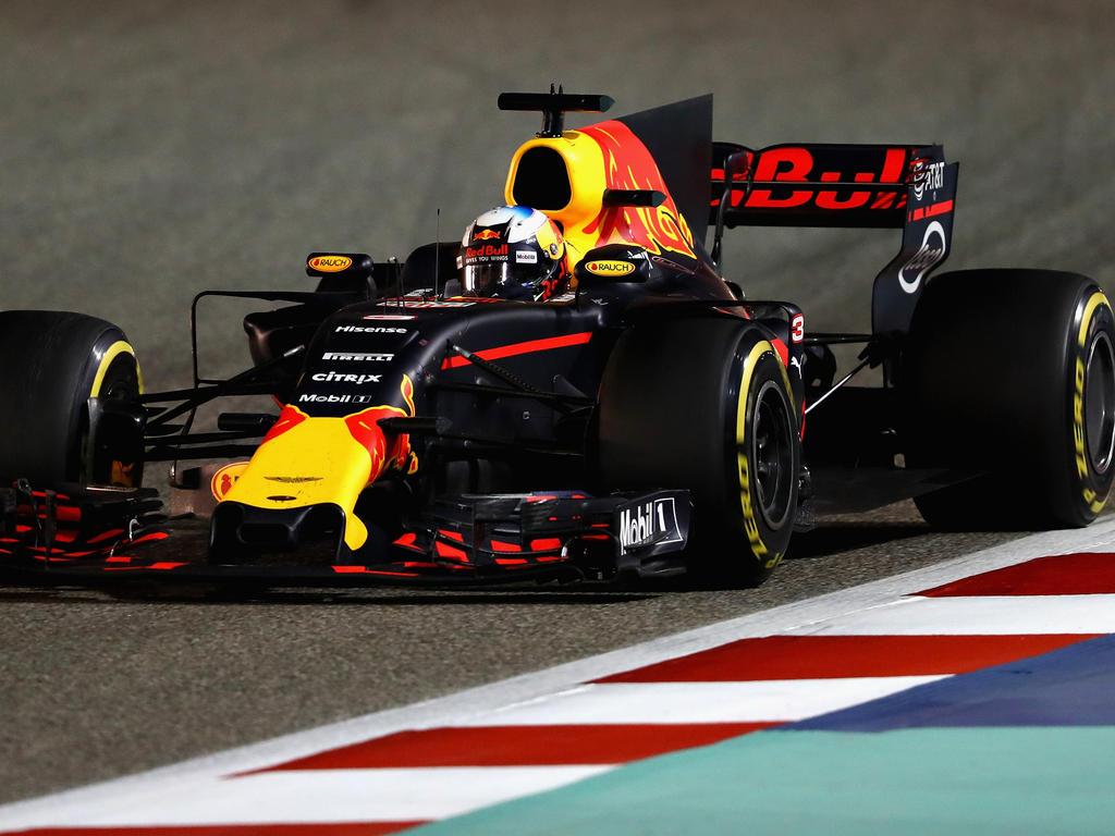 Daniel Ricciardo kann mit dem Saisonauftakt bei Red Bull nicht zufrieden sein