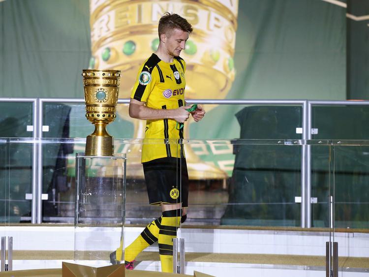 Darf Reus den Pokal erneut nur aus der Ferne betrachten?
