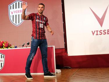 Lukas Podolski wurde von seinem neuen Arbeitgeber vorgestellt