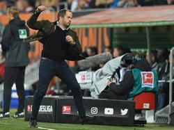 Augsburg-Coach Manuel Baum konnte durchschnaufen