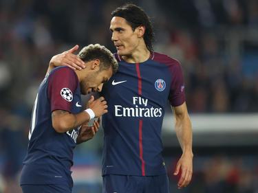 Neymar und der spät eingewechselte Cavani konnten die PSG-Pleite nicht verhindern