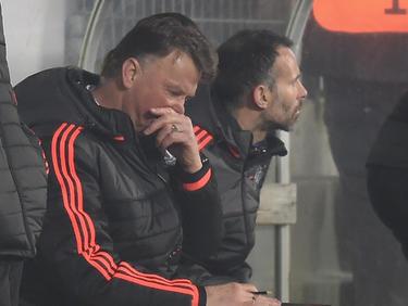 Verzweifelt: Van Gaal steckt mit United in einer großen Krise.