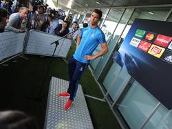 Cristiano Ronaldo will noch lange spielen