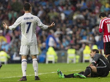 Cristiano Ronaldo beschwerte sich sich, dass er kein Tor erzielen durte