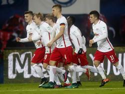 RB Leipzig bleibt an der Spitze