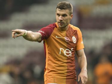 Lukas Podolski  ya no vestirá más la indumentaria del Galatasaray. (Foto: Imago)